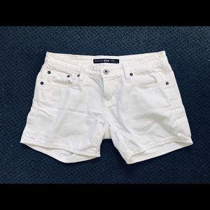 Adorable - white denim jean shorts